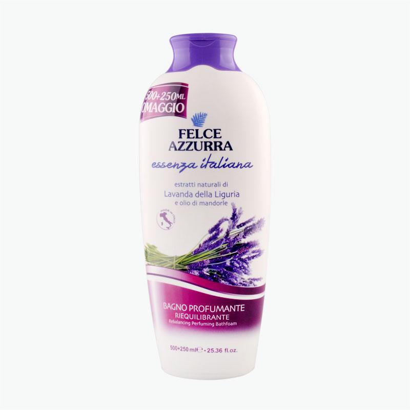 Felce Azzurra Lavender Refreshing Bubble Body Wash 750ml
