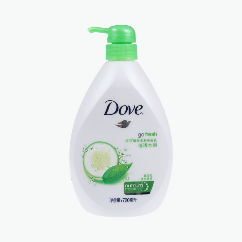 Dove, Go Fresh Body Wash Green Tee & Cucumber 720ml