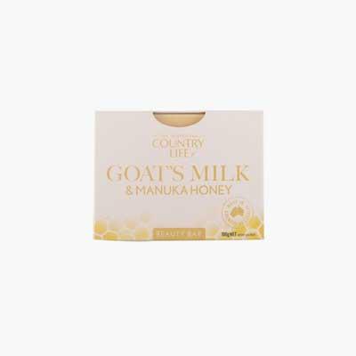 Country Life Goats Milk & Manuka Honey Beauty Bar 100g