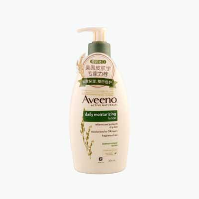 Aveeno Natural Oatmeal Daily Moisturizing Lotion (No Fragrance) 354ml
