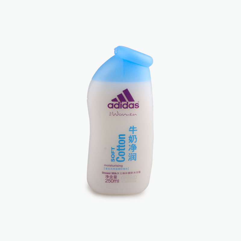 Adidas for Women, Soft Cotton Shower Milk 250ml