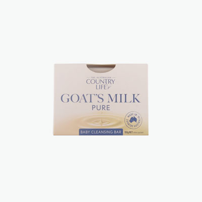 Country Life Goats Milk Soap Baby Cleansing Bar 100g