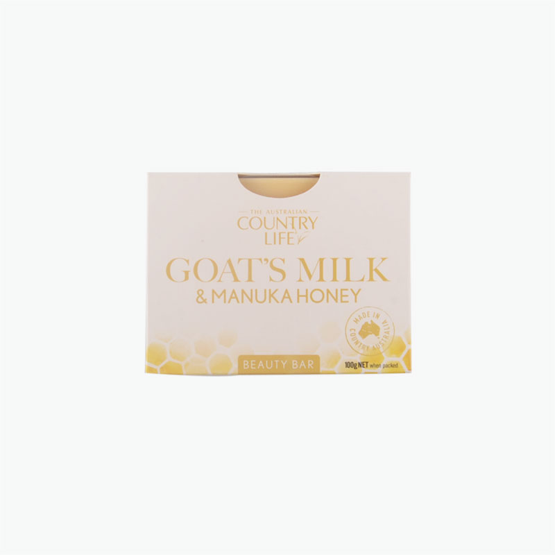 Country Life Goats Milk & Manuka Honey Beauty Bar 100g