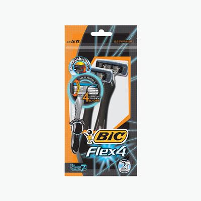 BIC Flex 4 Blades Shaver x 2