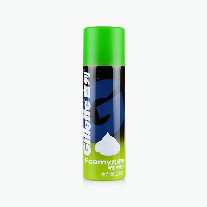 Gillette, Classic Shaving Cream (Lemon-Lime) 210g