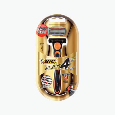 BIC Gold 4 Razor Blades Shaver