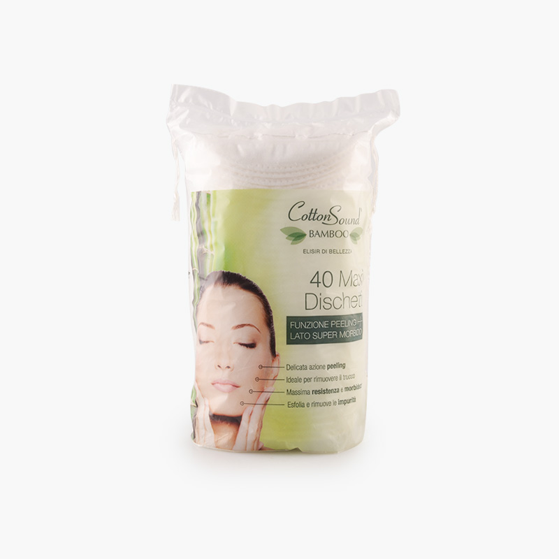 CottonSound, Cotton Rounds with Bamboo Fibers 40pcs