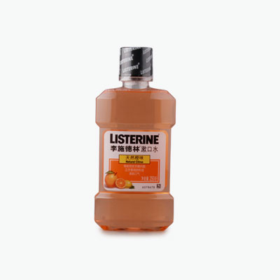 Listerine, Antiseptic Mouthwash (Natural Citrus) 250ml