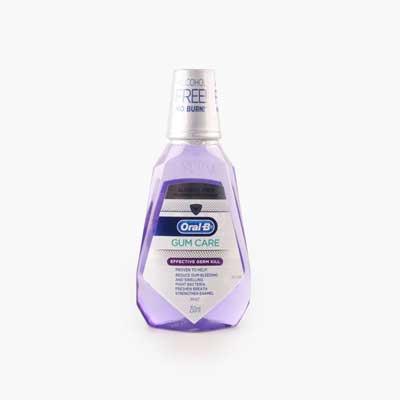 Oral B Mint Alcohol Free Fluoride Rinse  250ml