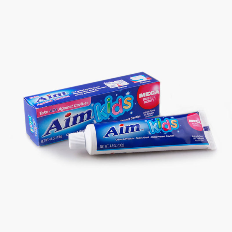Aim, Kids Toothpaste (Bubble Berry) 136g