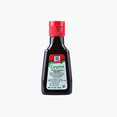 Mccormick Green Food Coloring 29ml