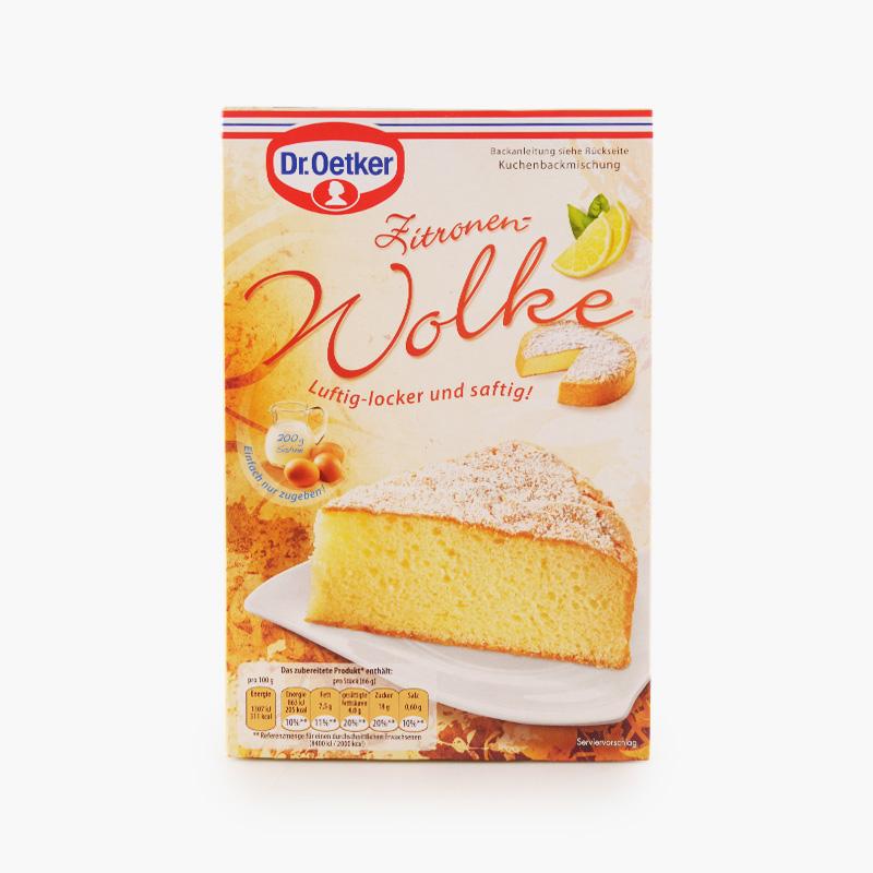Dr. Oetker, Lemon Cloud Cake Mix 430g