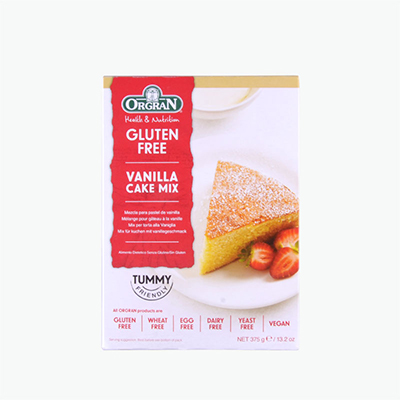 Orgran Gluten Free Vanilla Cake Mix 375g