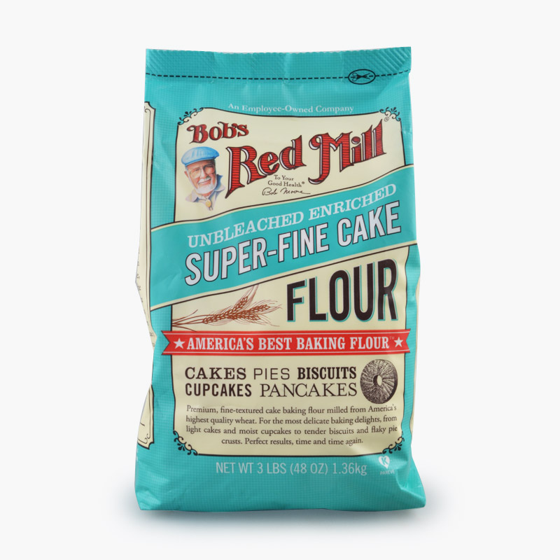 Bob s Red Mill, Unbleached Super Fine Cake Flour 1.36kg