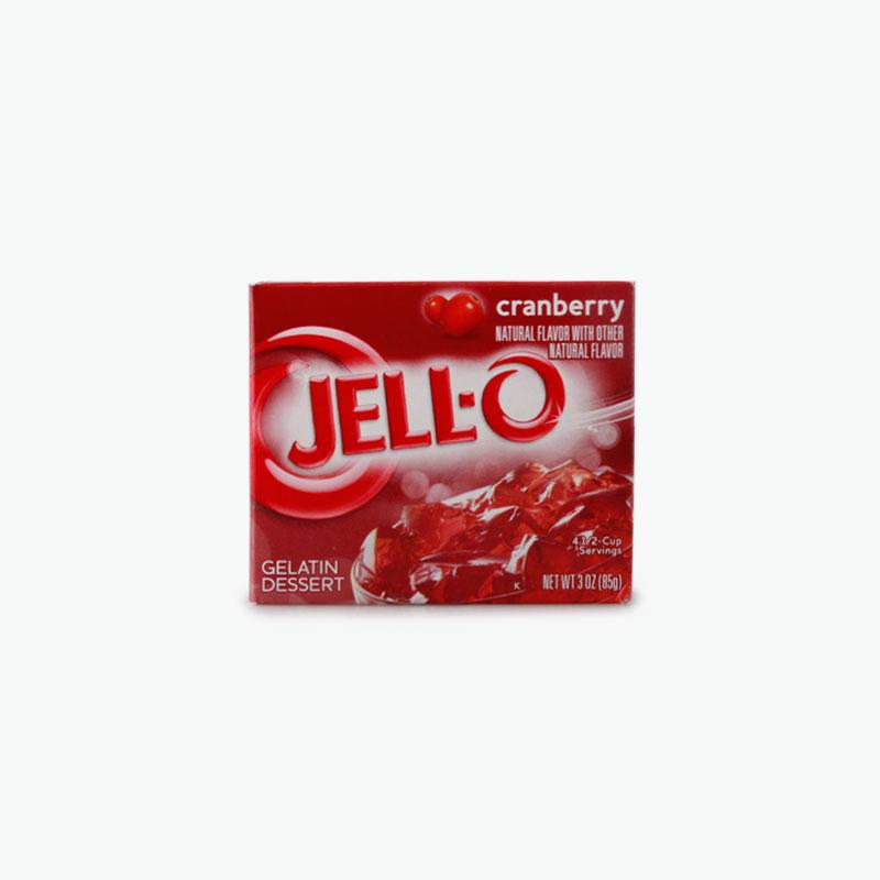 Jell-O, Cranberry Gelatin Dessert 85g