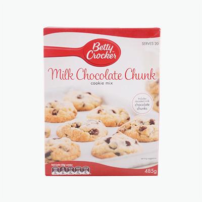 Betty Crocker, Milk Chocolate Chunk Cookie Mix 485g