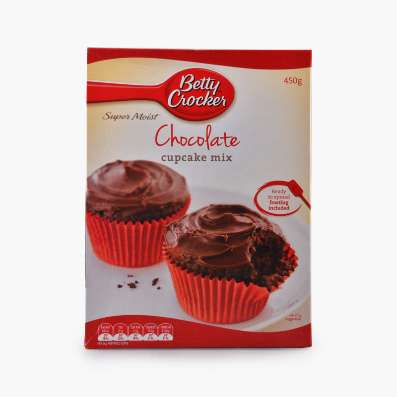 Betty Crocker, Chocolate Cupcake Mix 450g