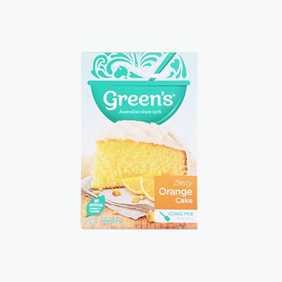 Green's Orange Cake Mix 470g