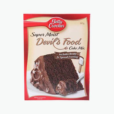 Betty Crocker, Super Moist Devil's Food Cake Mix 540g