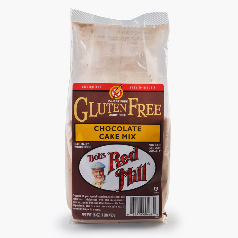 Bob's Red Mill, Gluten Free Chocolate Cake Mix 453g