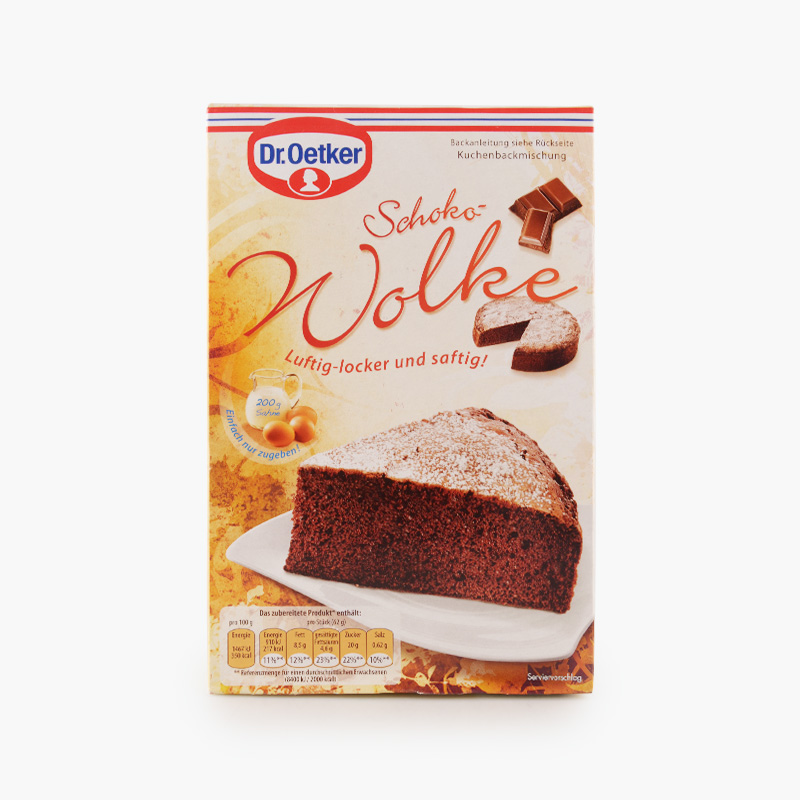 Dr. Oetker, Marble Cloud Cake Mix 455g