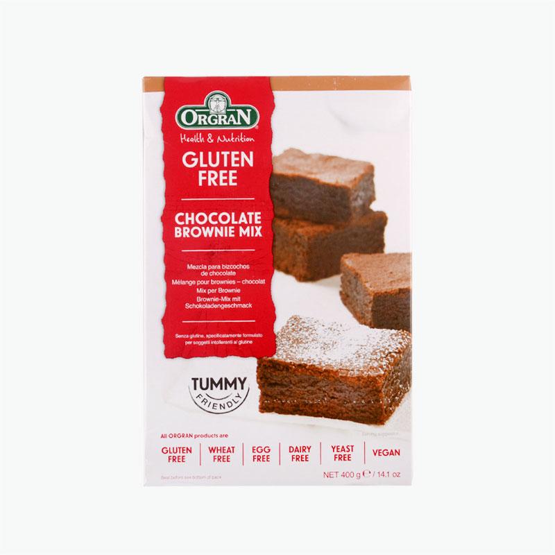 Orgran Gluten Free Chocolate Flavored Brownie Cake Mix 400g