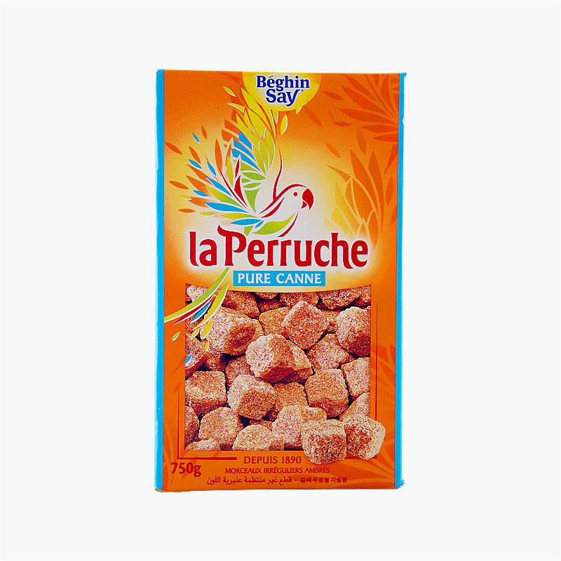Beghin Say La Perruche, Pure Cane (Amber Rough-cut) 750g
