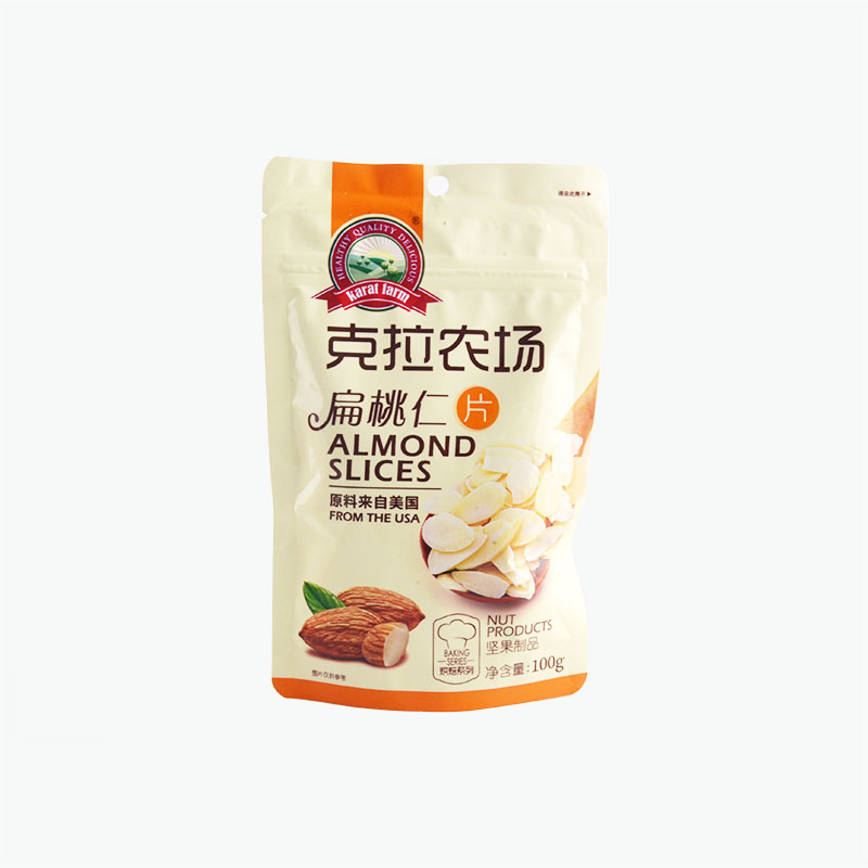 Karat Farm, Almond Slices 100g