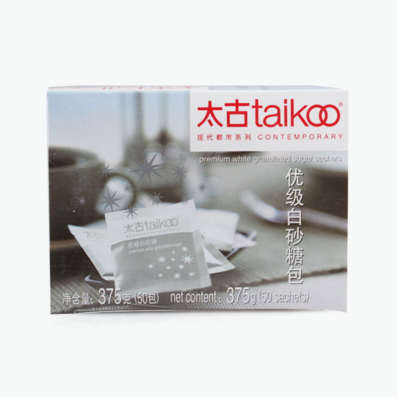 Taikoo, Premium White Granulated Sugar Sachets 375g