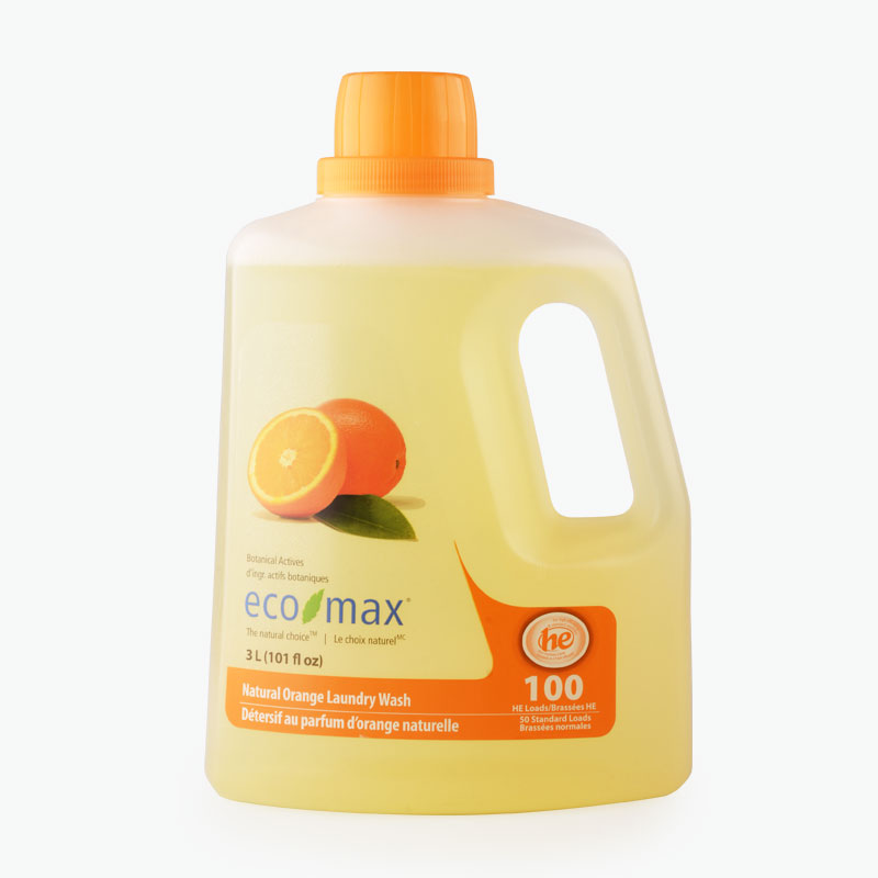 Eco-Max,  Natural Orange Laundry Detergent 3L