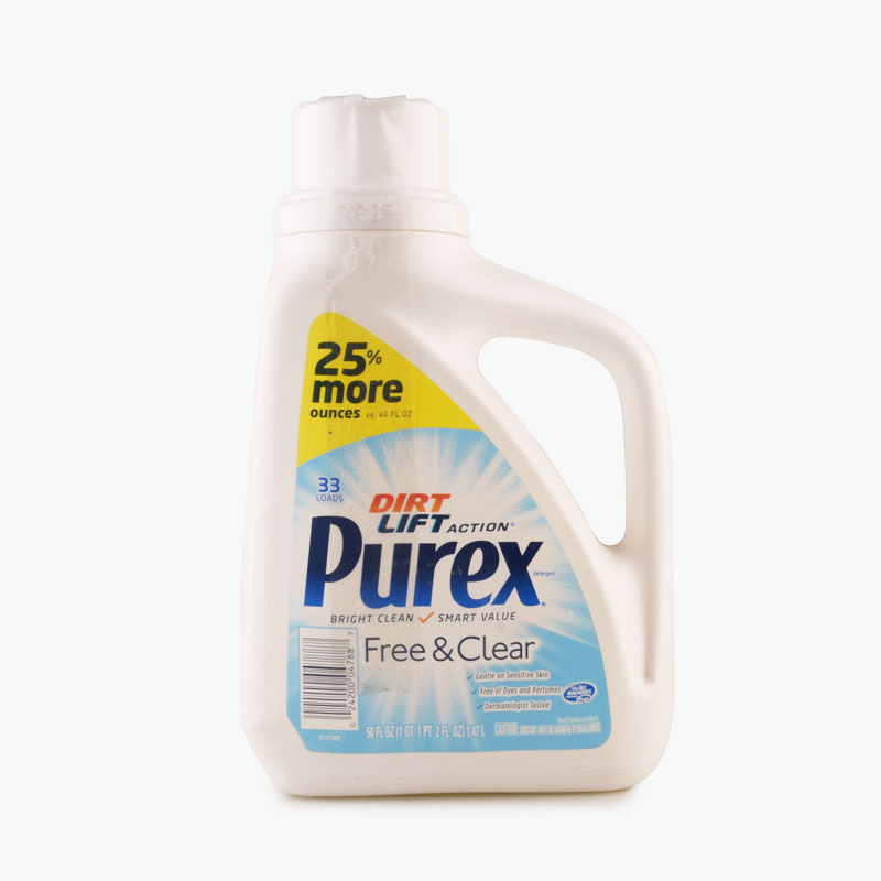 Purex Triple Action Detergent 6/50oz