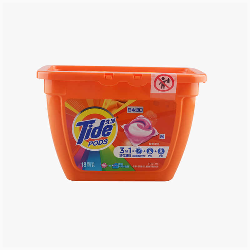 Tide 3 in1 Colour Protection Laundry Detergent Pods 356g (18pcs)