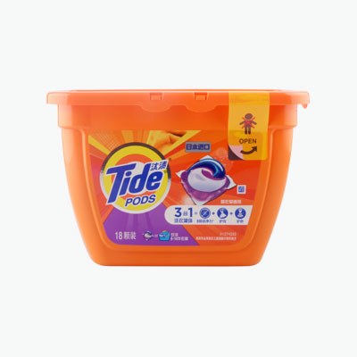 Tide 3 in1  Scented Laundry Detergent Pods 356g (18pcs)