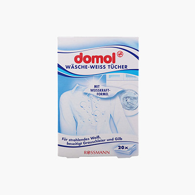 Domol Laundry White Absorbing Paper 20pcs