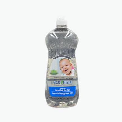 Ecomax, Natural Baby Dishwashing Liquid (Scent Free) 740ml