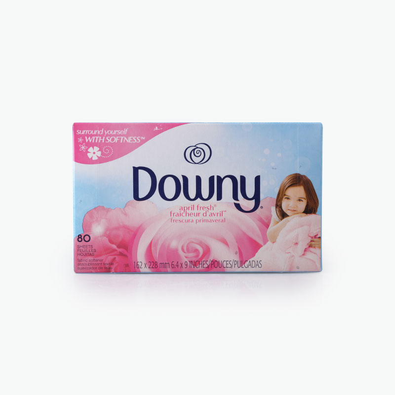 Downy, Fabric Softener Sheets (April Fresh) 80 x1