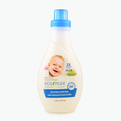 Ecomax, Natural Scent Free Baby Laundry Wash 1.05L