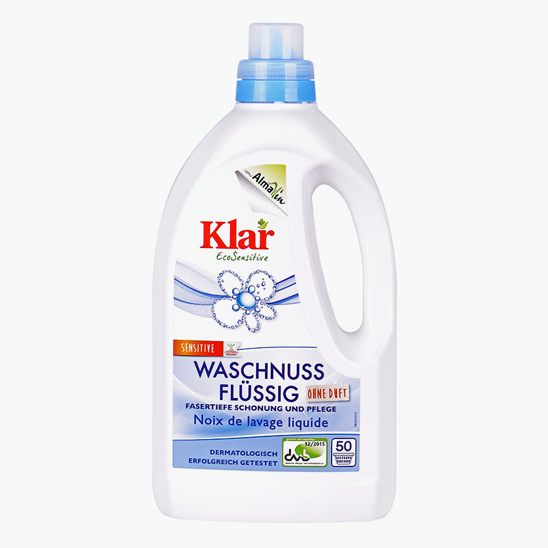 Klar, Concentrated Soapnut Laundry Detergent 1.5L
