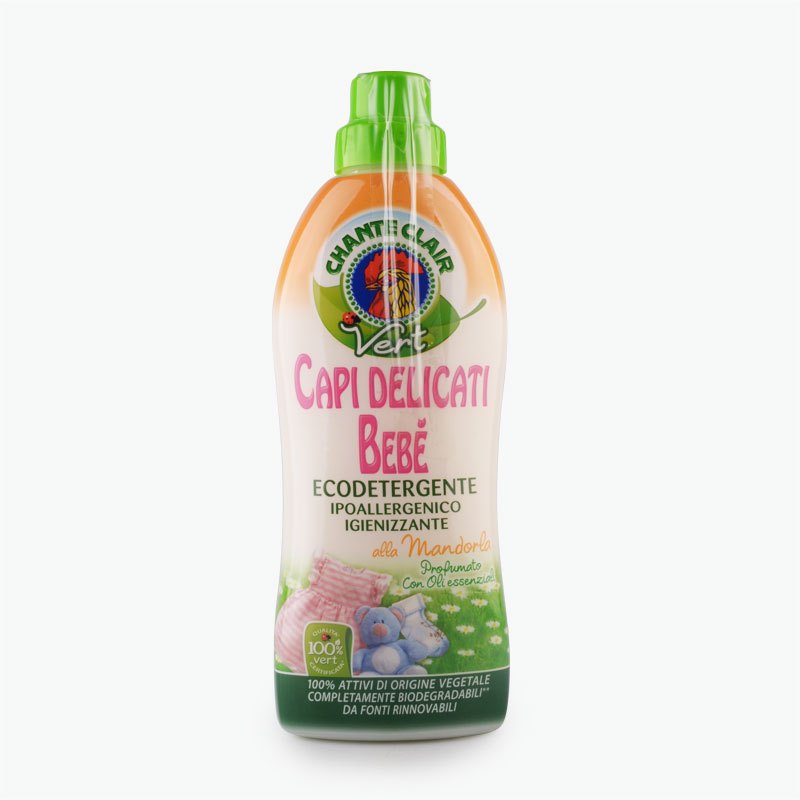 Chante Clair Eco Natural Baby Almond Scented Laundry Detergent 750ml