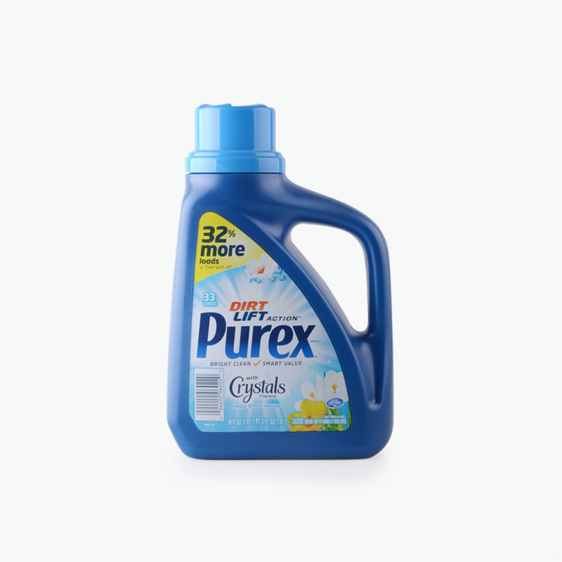 Purex, 'Dirt Lift Action' Laundry Detergent with Crystals Fragrance (Fresh Spring Waters) 1.47L