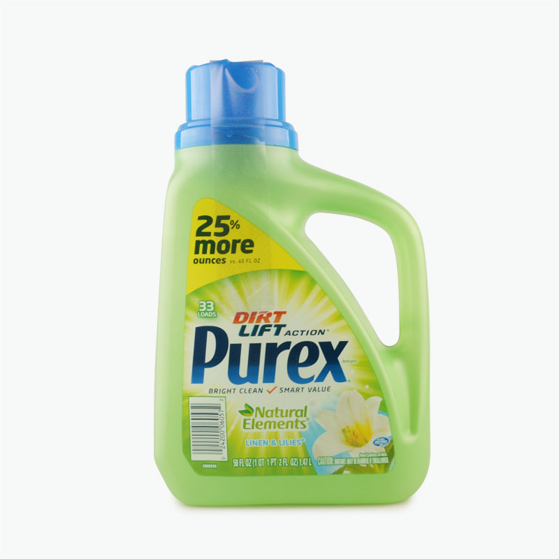 Purex Linen & Lillies Scented Triple Action Detergent 6/50oz