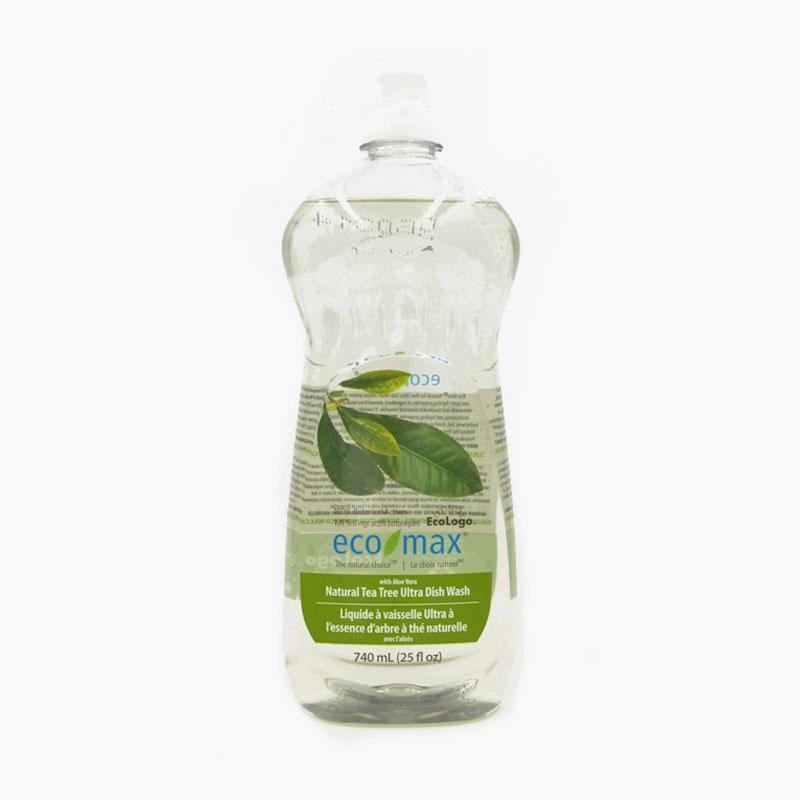 Ecomax, Ultra Dishwashing Liquid (Natural Tea Tree) 740ml