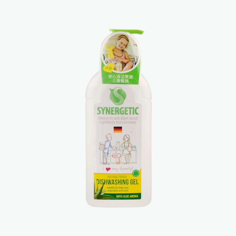 Synergetic Aloe Scented Antibacterial Dishwashing Gel 500ml