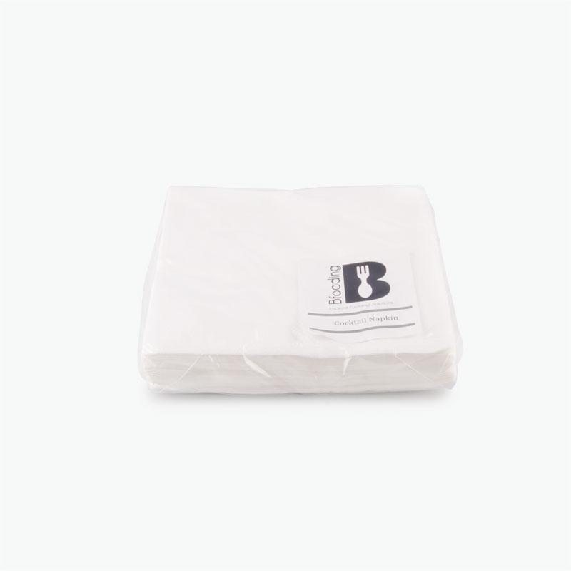 Bfooding White Paper Napkins 24x24cm 30pcs
