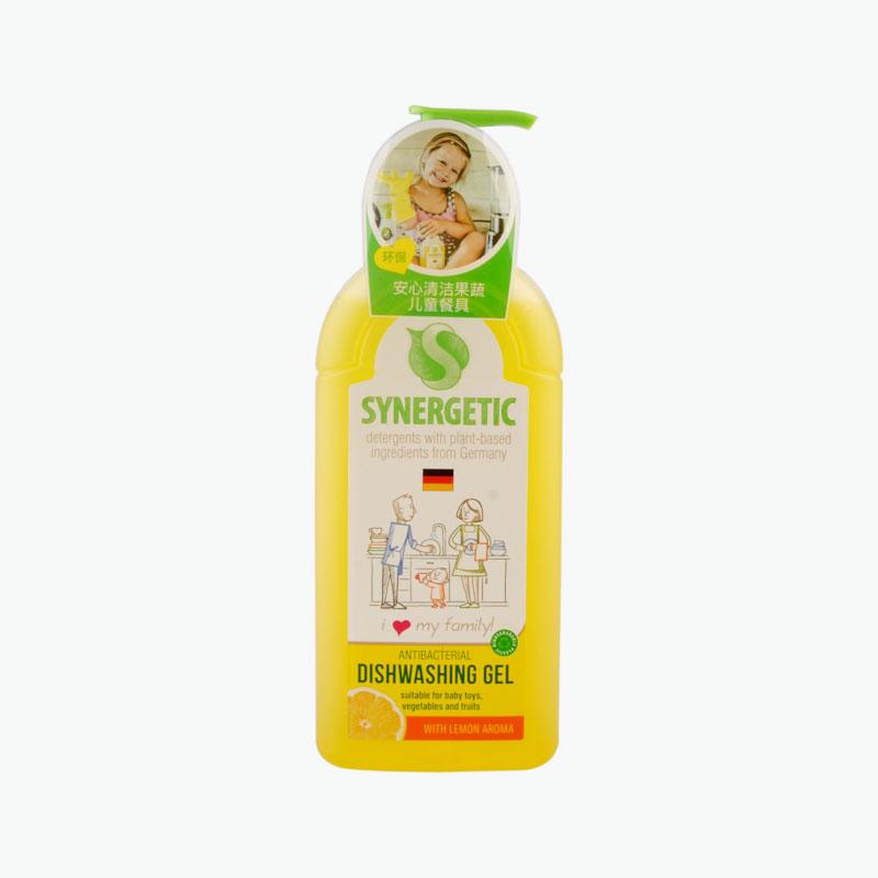 Synergetic Lemon Scented Antibacterial Dishwashing Gel 500ml