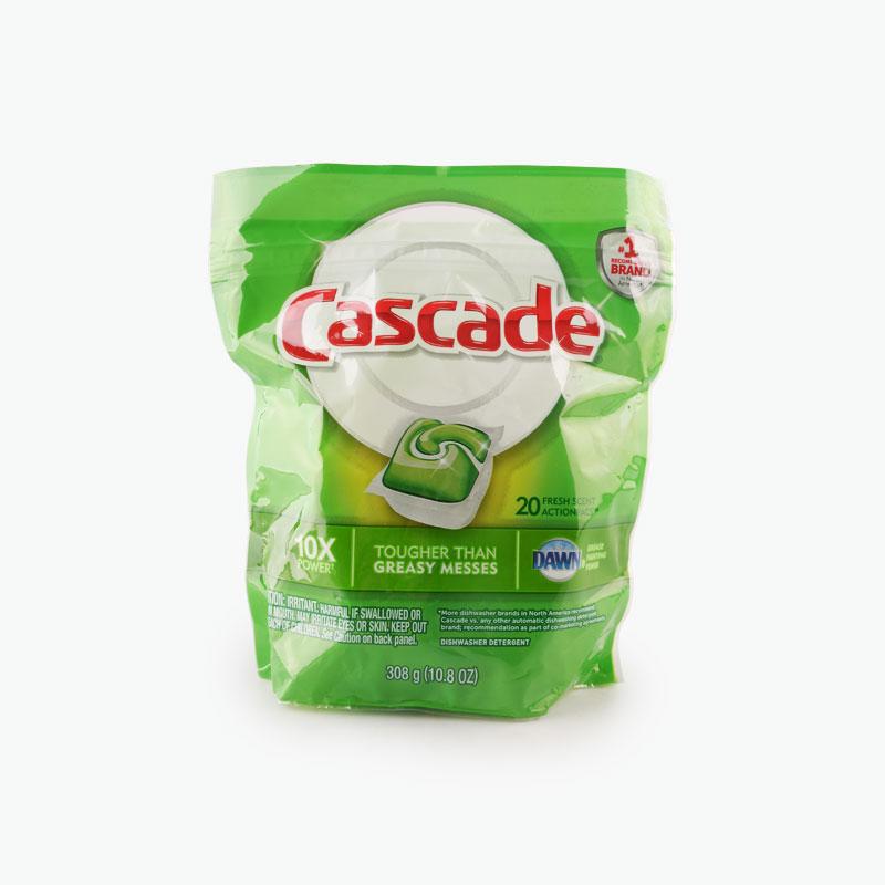 Cascade, 'Actionpacs' Dishwasher Detergent Packet (Fresh Scent) x20 308g
