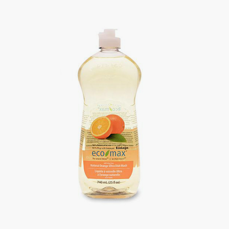Ecomax, Ultra Dishwashing Liquid (Natural Orange) 740ml