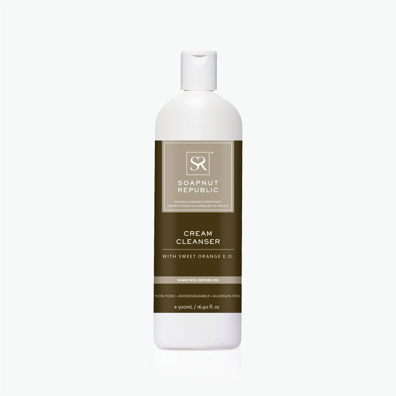 Soapnut Republic, Cream Cleanser (Sweet Orange) 500ml