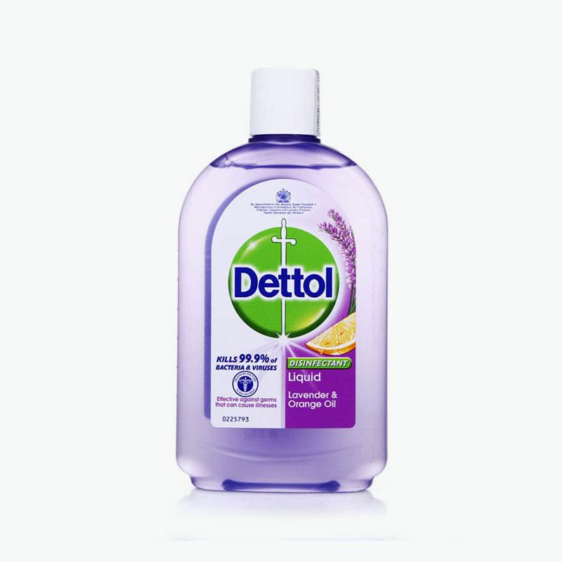 Dettol, Disinfectant Liquid (Lavender & Orange Oil) 500ml