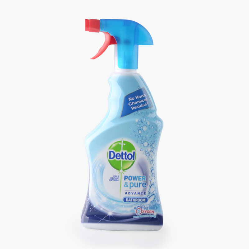 Dettol, 'Power & Pure Advance' Bathroom Cleaner (Fresh Mountain Spring) 750ml